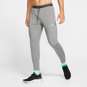 Men's Nike Phenom Elite Knit Training Pants Grey Heather Sales