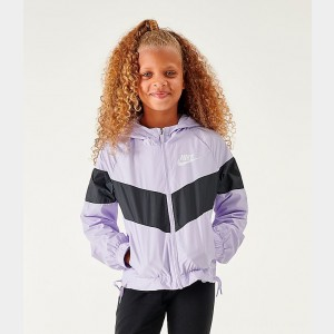 Girls' Nike Sportswear Windrunner Jacket Lavendar Mist Sales
