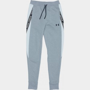 Boys' Under Armour Sportstyle Fleece Jogger Pants Mod Grey Light Heather/White Sales