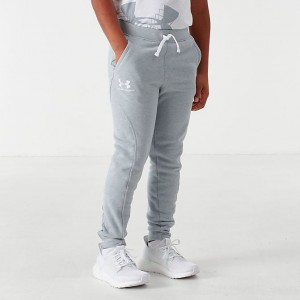 Boys' Under Armour Rival Jogger Pants Grey Sales