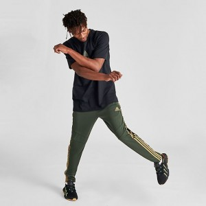 Men's adidas Tiro 19 Training Pants Legend Earth/Reflective Gold Sales