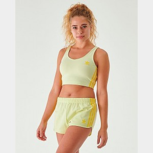 Women's adidas Originals Crop Tank Ice Yellow Sales