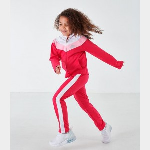 Black Friday 2021 Girls' Little Kids' Nike Tricot Track Jacket and Pants Set Rush Pink Sales