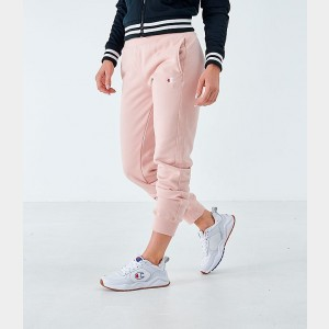Women's Champion Reverse Weave Small Logo Jogger Sweatpants Spiced Almond Sales