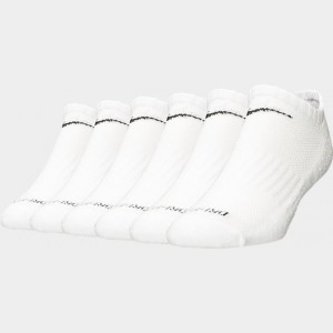 Nike Dri-FIT 6-Pack No Show Socks White Sales
