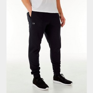 Men's Under Armour Rival Fleece Jogger Pants Black Sales