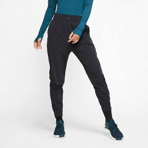 Black Friday 2021 Women's Nike Bliss Lux Jogger Pants Black/Clear Sales