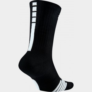 Men's Nike Elite NBA Crew Socks Black Sales