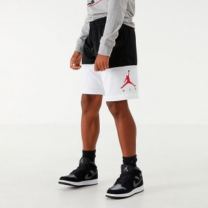 Boys' Jordan Jumpman Air GFX Mesh Shorts Black Sales