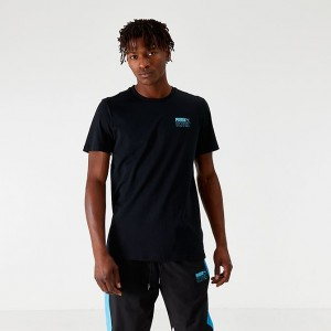 Men's Puma x Tetris T-Shirt Black Sales