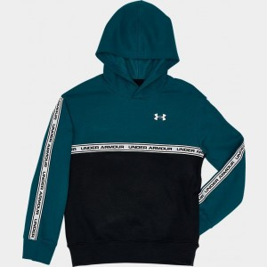 Boys' Under Armour Sportstyle Fleece Hoodie Teal Vibe/Black Sales