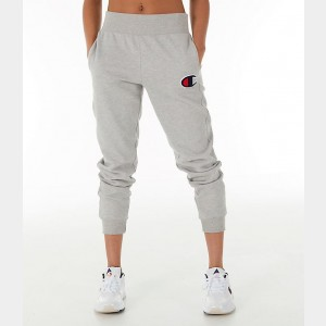 Women's Champion Reverse Weave Chenille Jogger Sweatpants Oxford Grey Sales