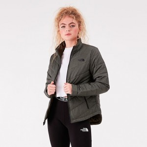 Women's The North Face Tamburello Jacket Taupe Green Sales