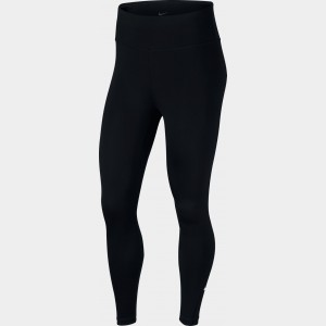 Women's Nike One 7/8 Tights Black/White Sales
