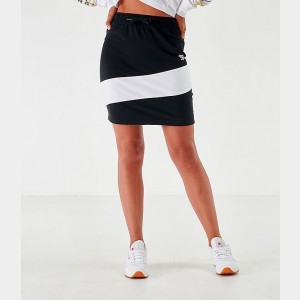 Women's Reebok Classics Vector Jersey Skirt Black/White Sales