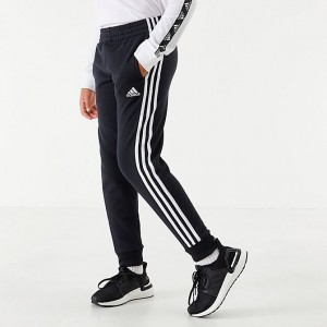 Boys' adidas Originals Sport Fleece Jogger Pants Black/White Sales