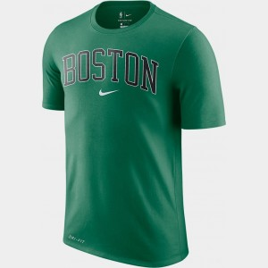Men's Nike Dri-FIT Boston Celtics NBA City T-Shirt Green Sales