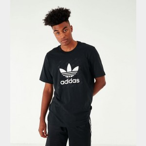 Men's adidas Originals Monogram Square T-Shirt Black Sales