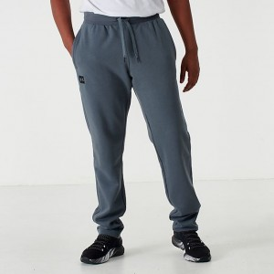 Men's Under Armour Rival Fleece Jogger Pants Pitch Grey/Black Sales