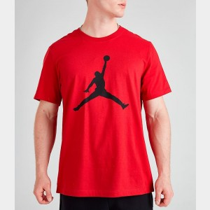 Men's Jordan Jumpman T-Shirt Gym Red/Black Sales