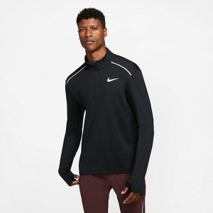Men's Nike Element 3.0 Half-Zip Training Top Black Sales