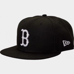 New Era Boston Red Sox MLB 9FIFTY Snapback Hat Black Sales