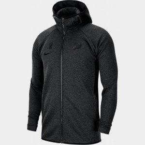 Men's Nike Dri-FIT Indiana Pacers NBA Showtime Full-Zip Hoodie Black Sales