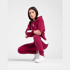 Women's Gym King Panel Jogger Pants Plum Sales