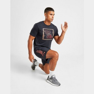 Men's Under Armour Rhythm Graphic T-Shirt Black Sales
