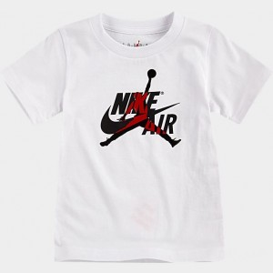 Boys' Toddler Air Jordan Mashup T-Shirt White Sales