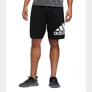 Men's adidas 4KRFT 9-inch Badge of Sport Training Shorts Black Sales