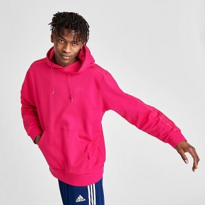 Men's adidas Originals Winterized Hoodie Bright Pink Sales