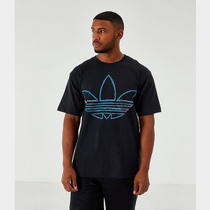 Men's adidas Originals Watercolor T-Shirt Black Sales