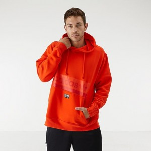 Men's adidas Originals R.Y.V Hoodie Active Orange Sales