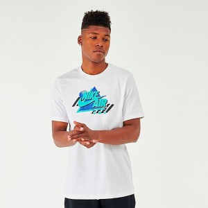 Men's Nike Sportswear Remix T-Shirt White Sales