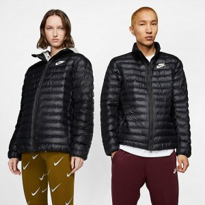 Men's Nike Sportswear Syn Fill Bubble Puffer Jacket Black/Black/Black/Sail Sales