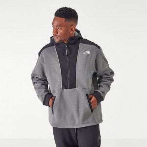 Men's The North Face Graphic Collection Half-Zip Hoodie TNF Grey/Heather Sales
