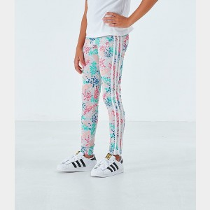 Girls' adidas Originals Floral Leggings Multi Floral Sales