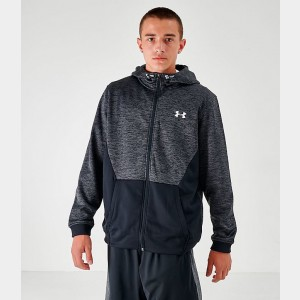 Men's Under Armour Armour Fleece Full-Zip Hoodie Grey Sales