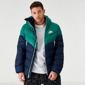 Men's Nike Sportswear Windrunner Down Fill Jacket Bicoastal/Obsidian Sales