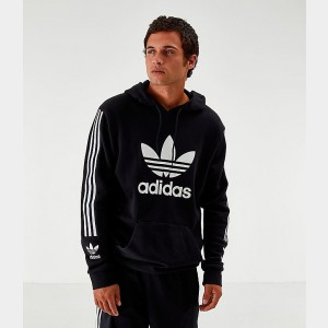 Men's adidas Originals Lock Up Hoodie Black Sales