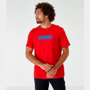 Men's Nike Sportswear Air T-Shirt Red Sales