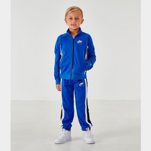 Black Friday 2021 Boys' Little Kids' Nike Air Tricot Track Jacket and Pants Set Game Royal Sales