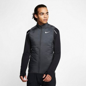 Men's Nike AeroLayer Vest Dark Smoke Grey/Grey Fog Sales
