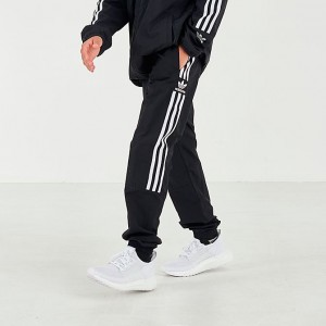 Boys' adidas Originals Lock Up Jogger Pants Black/White Sales