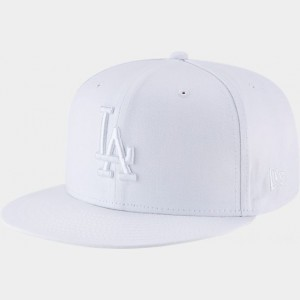 New Era Los Angeles Dodgers MLB 9FIFTY Snapback Hat White Sales