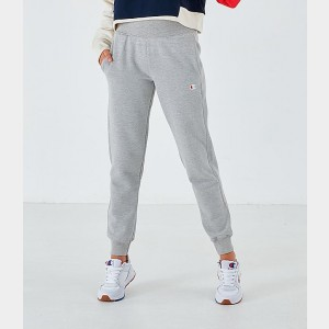 Women's Champion Reverse Weave Small Logo Jogger Sweatpants Oxford Grey Sales