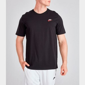 Men's Nike Core T-Shirt Black/Red/White Sales