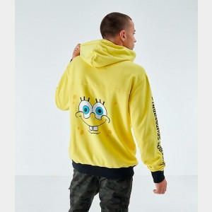 Men's Timberland x SpongeBob SquarePants Hoodie Yellow Sales