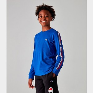 Kids' Champion Heritage Classic Graphic Long-Sleeve T-Shirt Surf The Web Sales